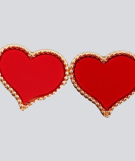 Σκουλαρίκια Σε Σχήμα Καρδιά
