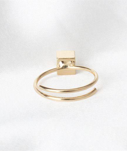 Δαχτυλίδι Σε Σχήμα Κύβου