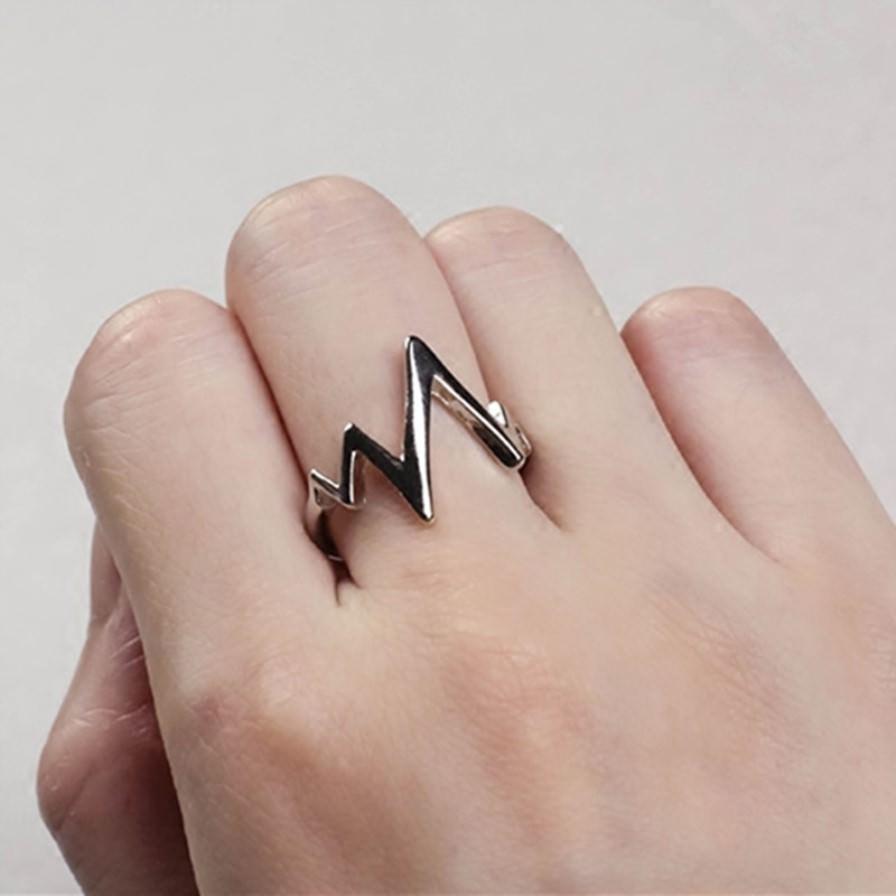 Δαχτυλίδι Με Σχέδιο Heartbeat - Cante 7a8180c2d3e