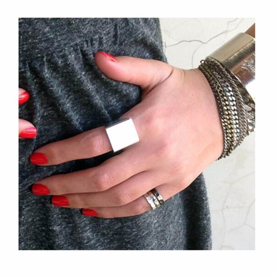 Δαχτυλίδι Σε Σχήμα Γεωμετρικό