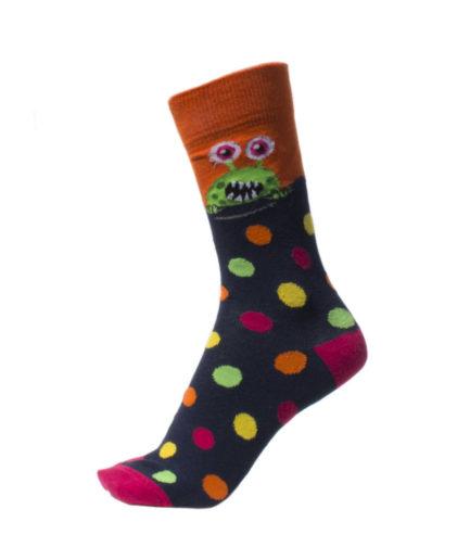 Ανδρικές Κάλτσες Ψηλές Με Τέρατα