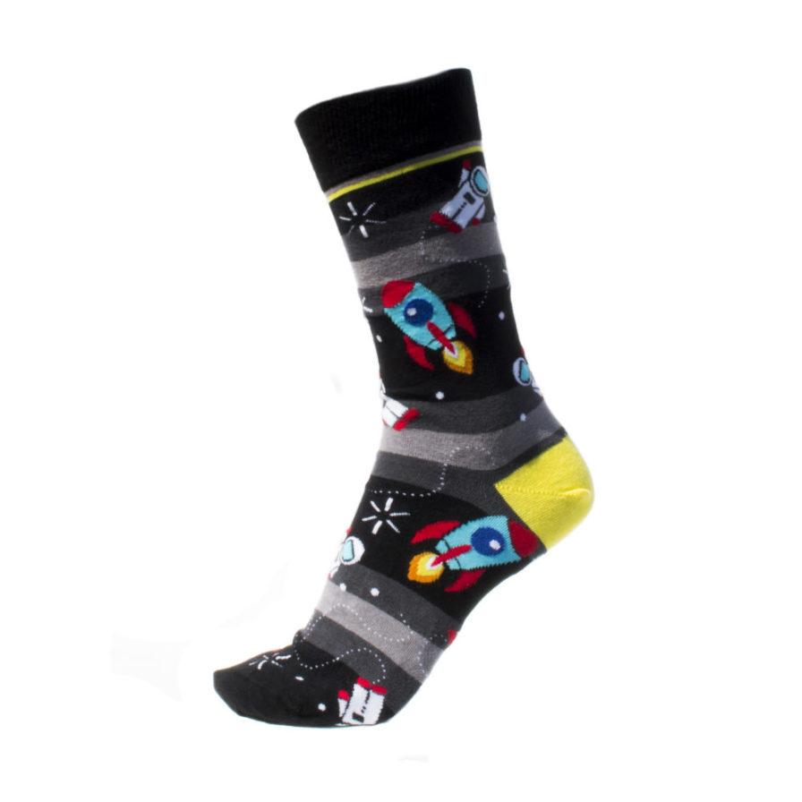 Ανδρικές Κάλτσες Ψηλές Με Πυραύλους