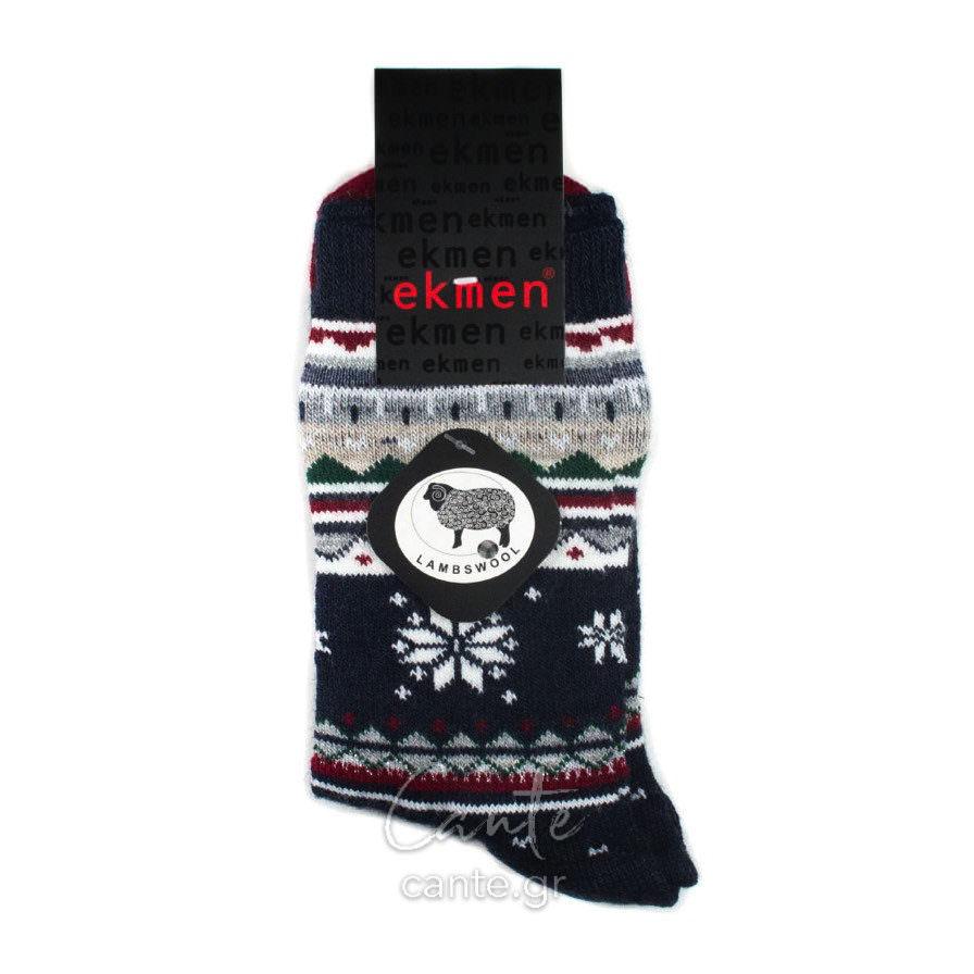 Γυναικείες Κάλτσες Ψηλές Μάλλινες