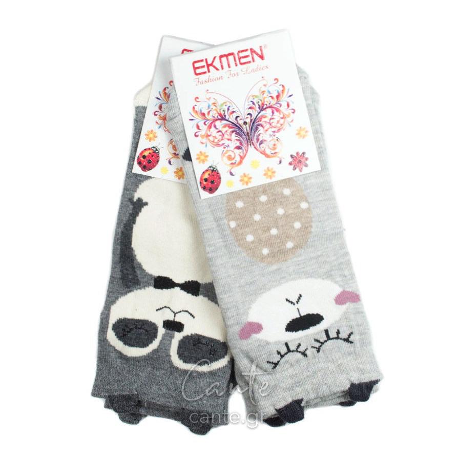 Γυναικείες Κάλτσες Σοσόνια 3D Με Ζωάκια - Γυναικεία Σοσόνια & Κάλτσες cante.gr