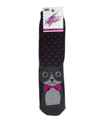 Γυναικείες Κάλτσες Ψηλές Με Γάτα