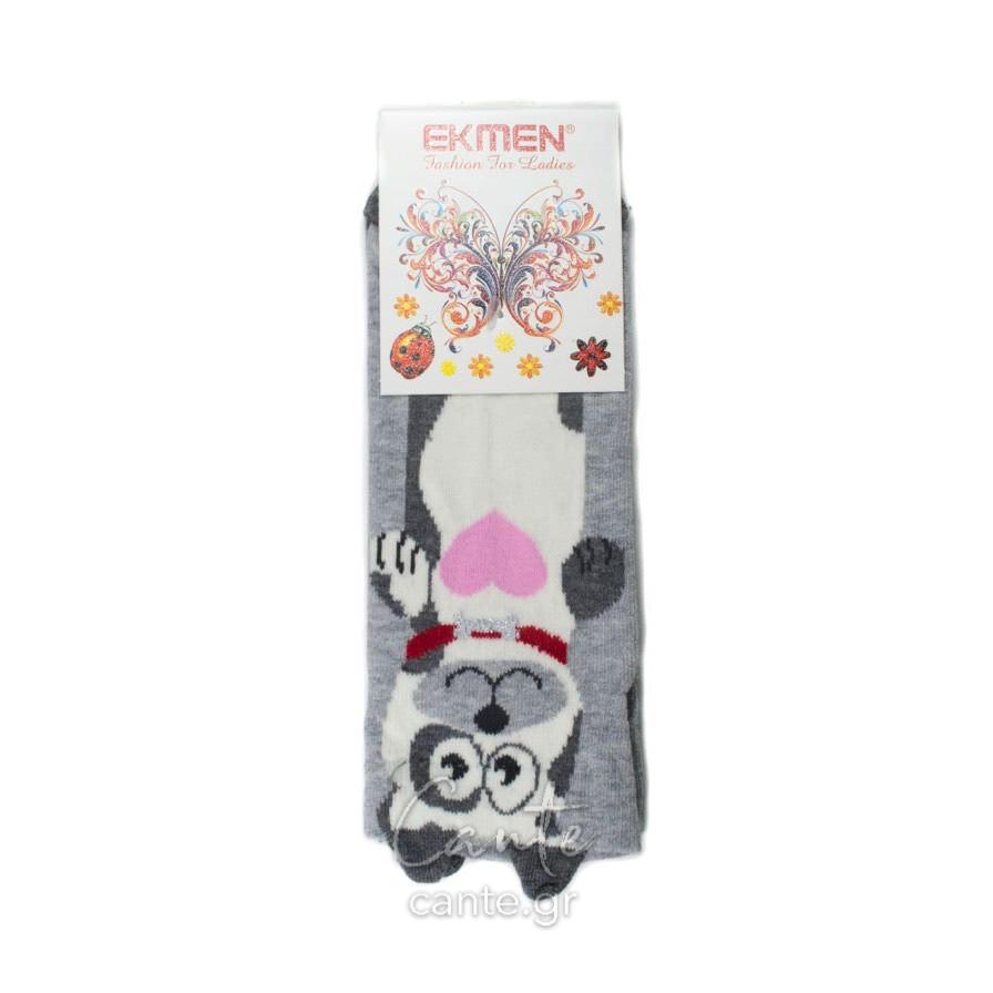 Γυναικείες Κάλτσες Σοσόνια 3D Με Ζωάκια - Γυναικεία Σοσόνια & Κάλτσες