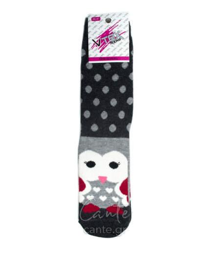 Γυναικείες Κάλτσες Ψηλές Με Σχέδιο
