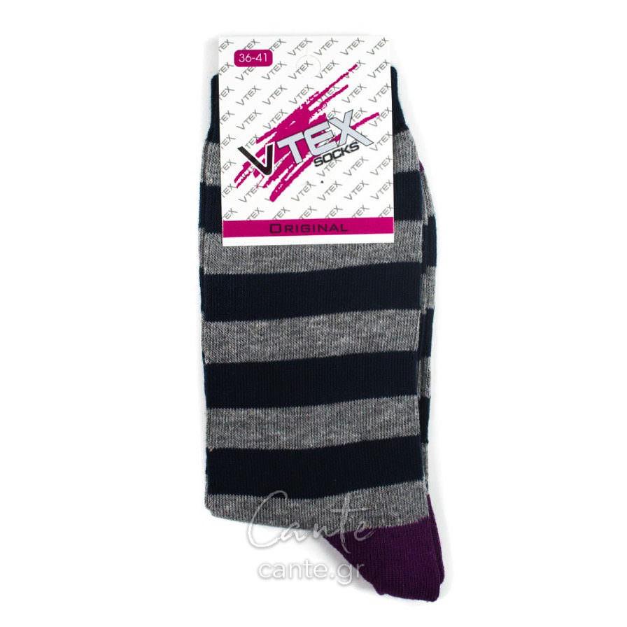 Γυναικείες Κάλτσες Ψηλές Με Ρίγες cante.gr