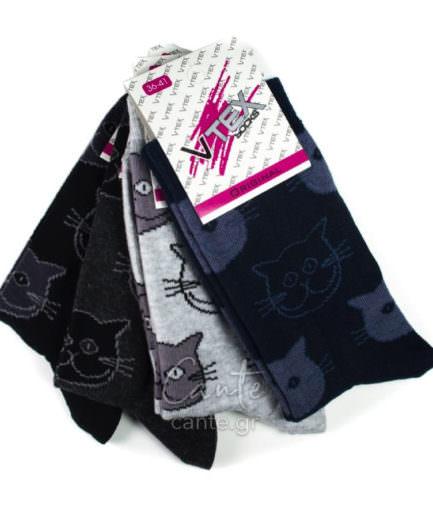 Γυναικείες Κάλτσες Σοσόνι Μονόχρωμο