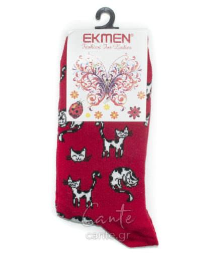 Γυναικείες Κάλτσες Ψηλές Με Γάτες