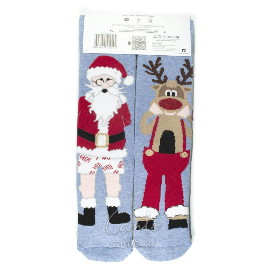 Χριστουγεννιάτικες Γυναικείες Κάλτσες Πετσετέ - Γυναικείες Κάλτσες 4b82ce2f26a