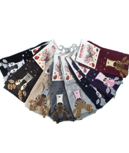 Γυναικείες Κάλτσες Σοσόνια Με Ταράνδο