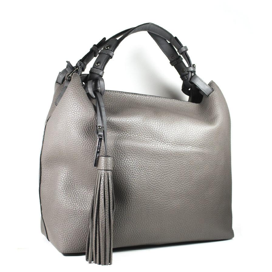 Γυναικεία Τσάντα Ώμου Γκρι
