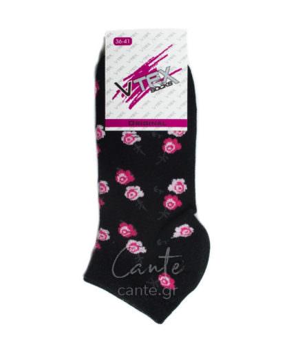 Γυναικείες Κάλτσες Σοσόνια Με Λουλούδια, Γυναικεία Σοσόνια - cante.gr