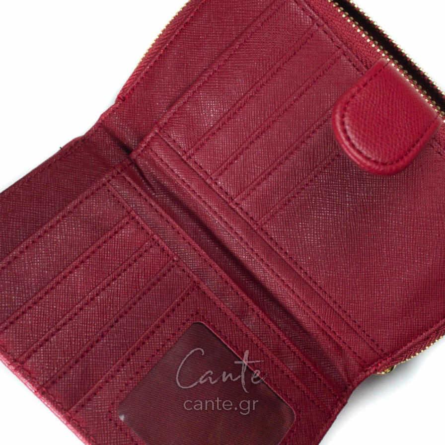 Γυναικείο Πορτοφόλι Κόκκινο