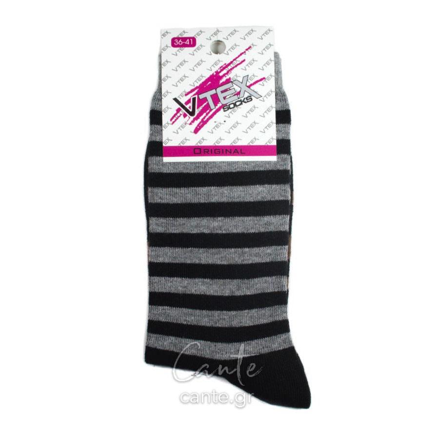 Γυναικείες Κάλτσες Ψηλές Με Σχέδιο - Cante f639c210e87