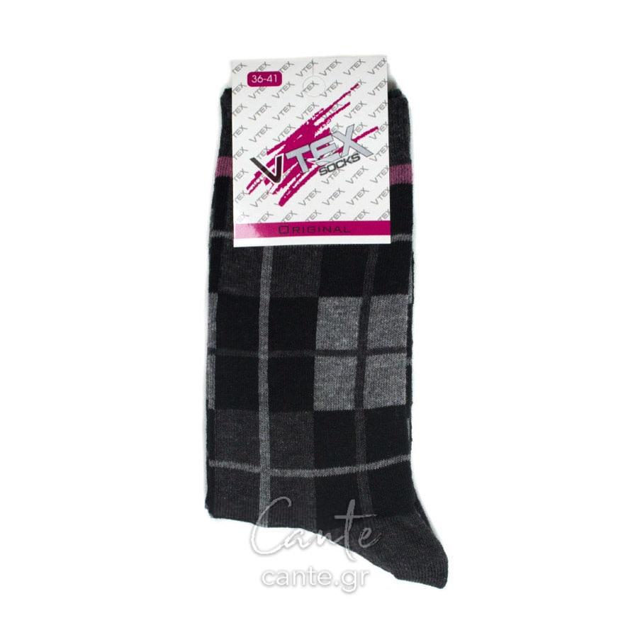 Γυναικείες Κάλτσες Ψηλές Καρό