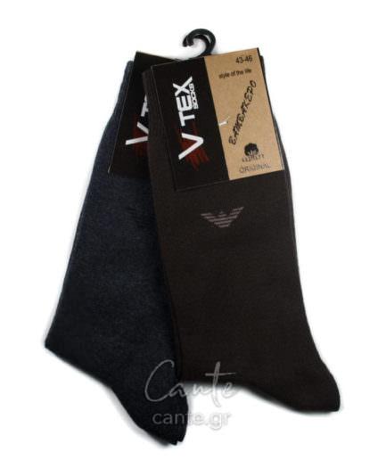 Ανδρικές Κάλτσες Ψηλές Μονόχρωμες -Ανδρικές Κάλτσες - Cante.gr