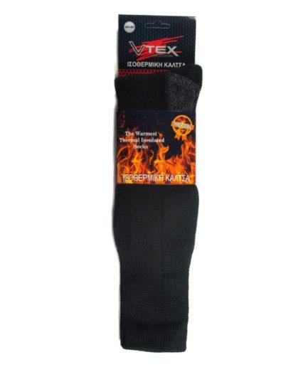 Ανδρικές Ισοθερμικές Κάλτσες Μαύρες