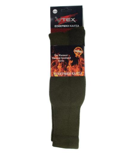 Ανδρικές Ισοθερμικές Κάλτσες Χακί