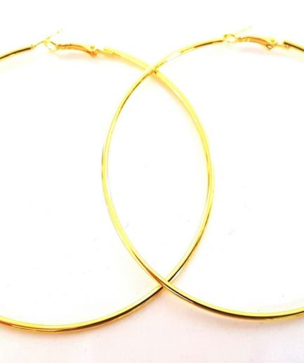 be11bc72e5 Σκουλαρίκια Hammered Hoops XL