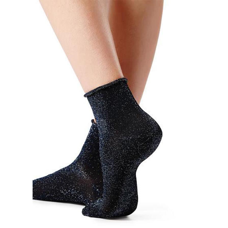 Γυναικεία Καλτσάκια Με Γκλίτερ - Κάλτσες με φιόγκο f9831373a44