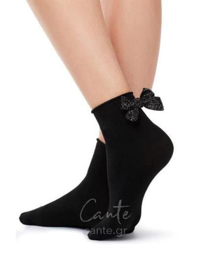 Γυναικεία Καλτσάκια Με Φιόγκο- Κάλτσες με φιόγκο, πέρλες, δίχτυ, στρας cante.gr