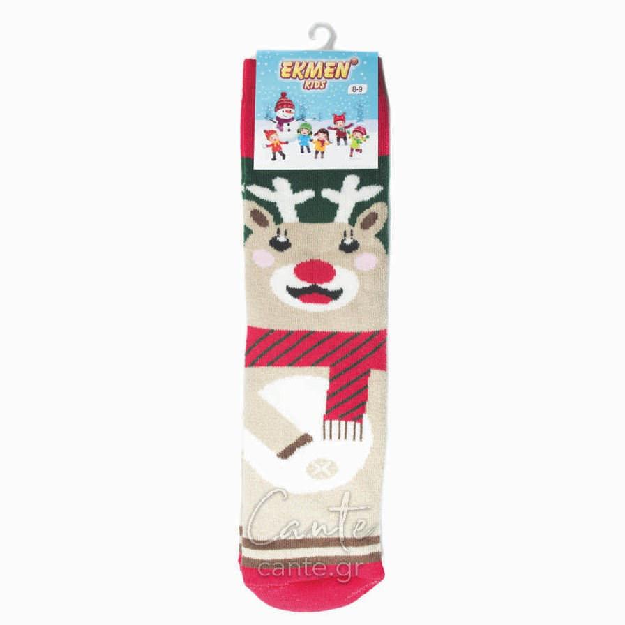 Χριστουγεννιάτικες Κάλτσες Παιδικές Πετσετέ