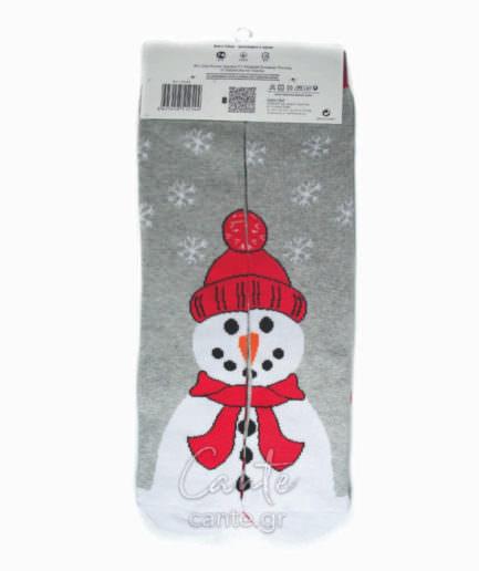 Σετ 2 Χριστουγεννιάτικες Γυναικείες Κάλτσες