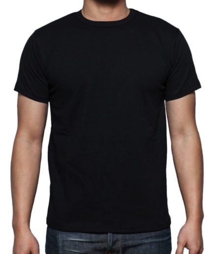 Ανδρικό Φανελάκι Μαύρο 100% Βαμβακερό T-Shirt