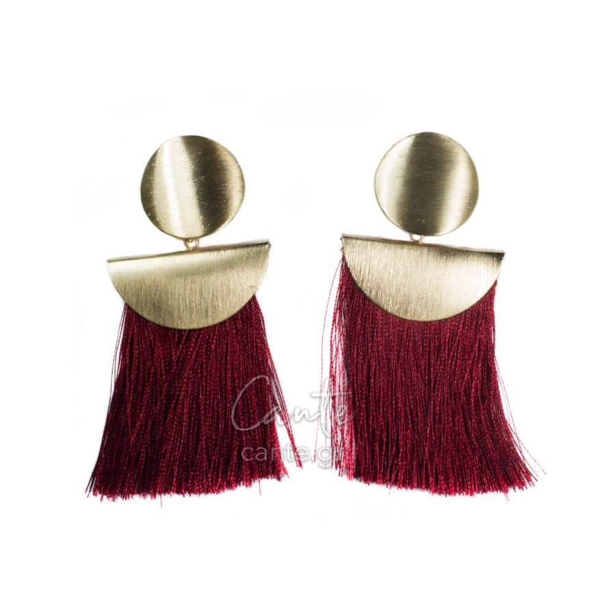 Γυναικεία Σκουλαρίκια Με Φούντες