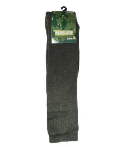 Στρατιωτικές Κάλτσες Χακί Ψηλές