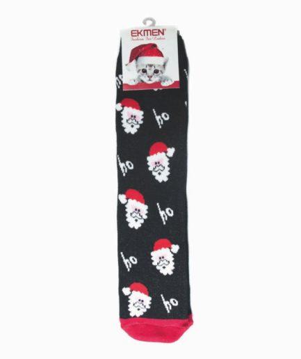Γυναικείες Κάλτσες Χριστουγεννιάτικες Πετσετέ Ηο Ηο
