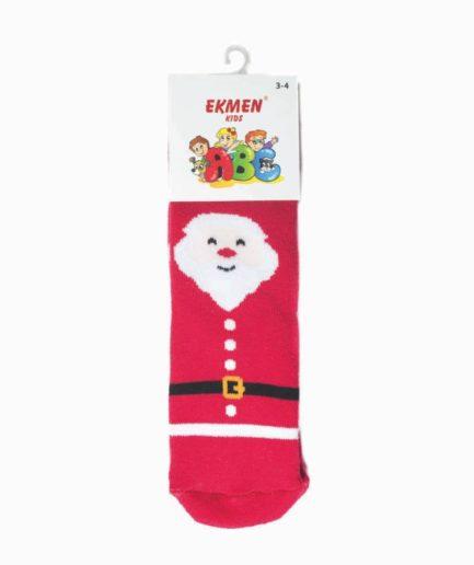 Χριστουγεννιάτικες Κάλτσες Παιδικές Πετσετέ Αϊ-Βασίλης