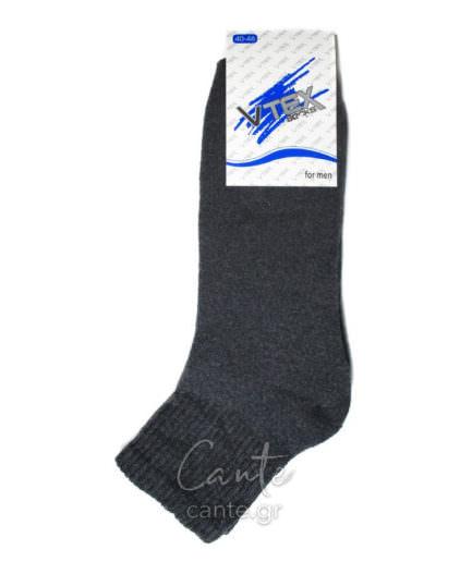 Ανδρικές Κάλτσες Στον Αστράγαλο Πετσετέ