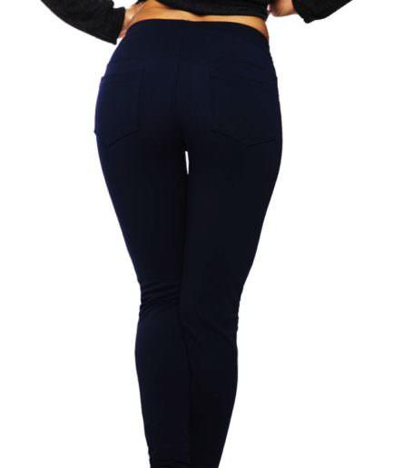 Κολάν Παντελόνι Διαγοναλ Μπλε Με Τσέπες ΚαιΣτρας - Γυναικεία Κολάν