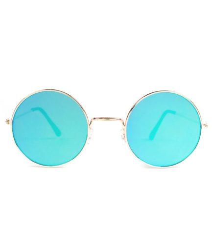 Γυναικεία Γυαλιά Ηλίου Flat Χρυσά