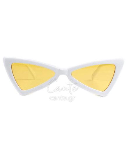 Γυναικεία Γυαλιά Ηλίου Mia Λευκά