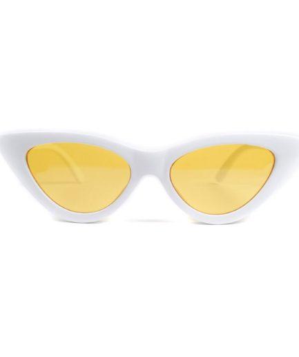 Γυναικεία Γυαλιά Ηλίου Tiara Λευκά