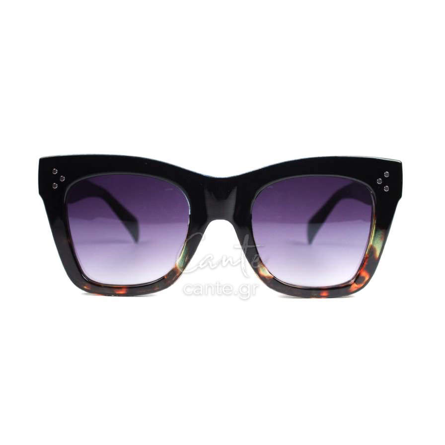 2e9f4fdb95 Γυναικεία Γυαλιά Ηλίου Pineapple Μαύρο Με Ταρταρούγα - Cante