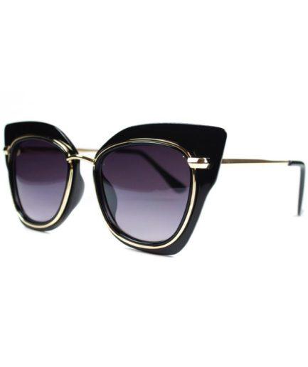 Γυναικεία Γυαλιά Ηλίου Costa Rica Μαύρο