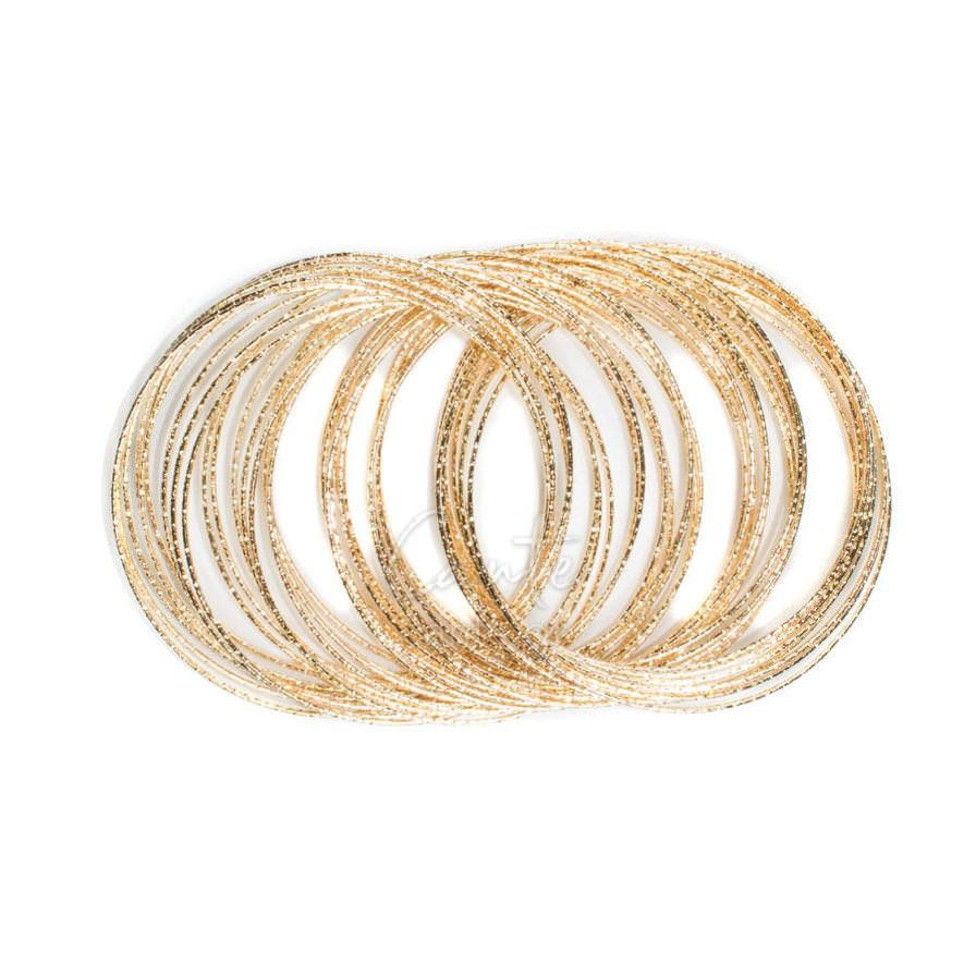 Βραχιόλι Bangles Loop Χρυσό