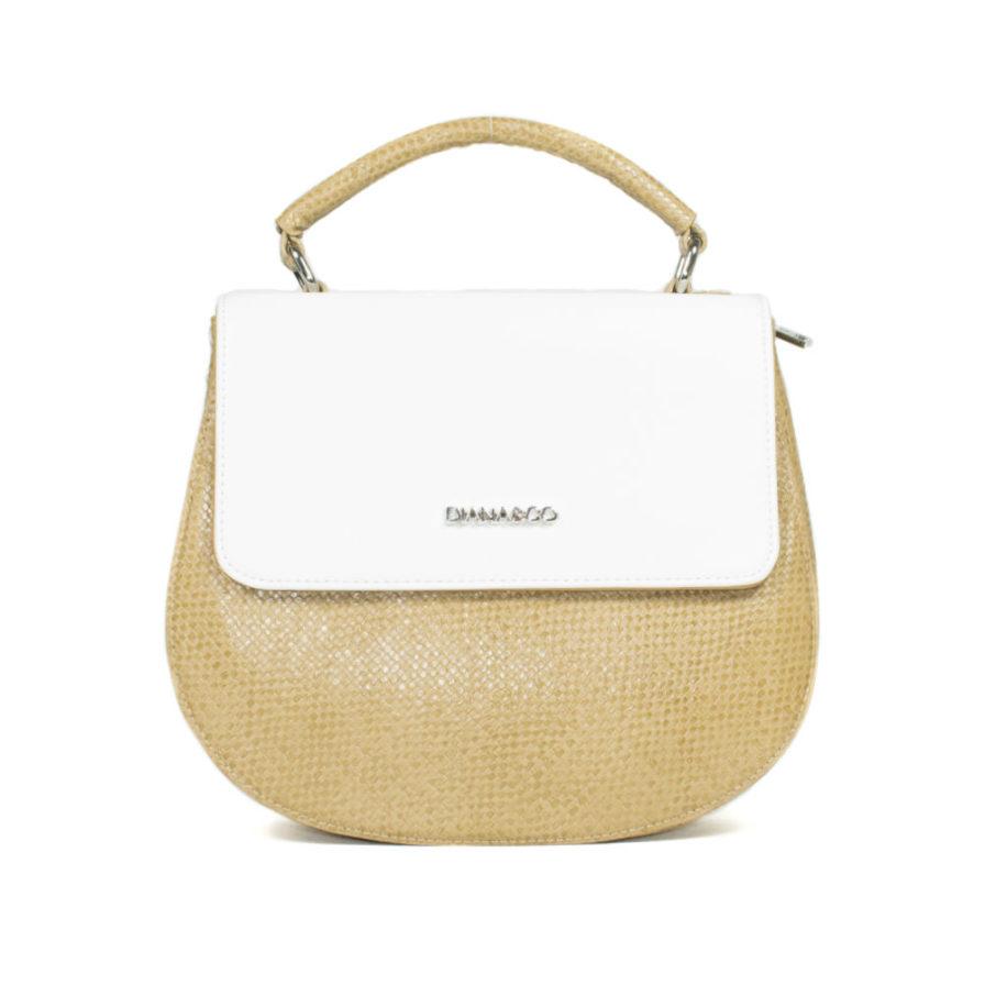 Γυναικεία Τσάντα Ώμου Άσπρη - Γυναικείες Τσάντες