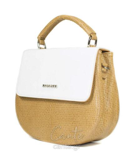 Γυναικεία Τσάντα Ώμου Άσπρη