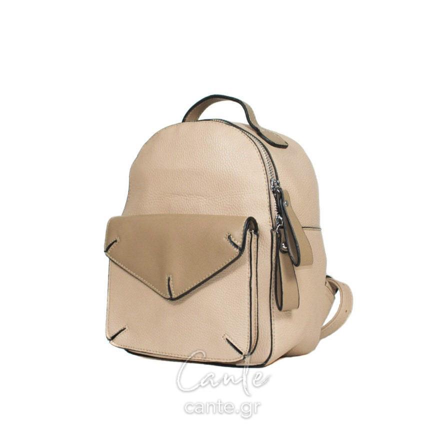 Γυναικεία Τσάντα Backpack Μπεζ - Γυναικείες Τσάντες - Cante fee0b060635