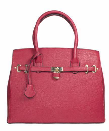 Γυναικεία Τσάντα Ώμου Κόκκινη - Γυναικείες Τσάντες