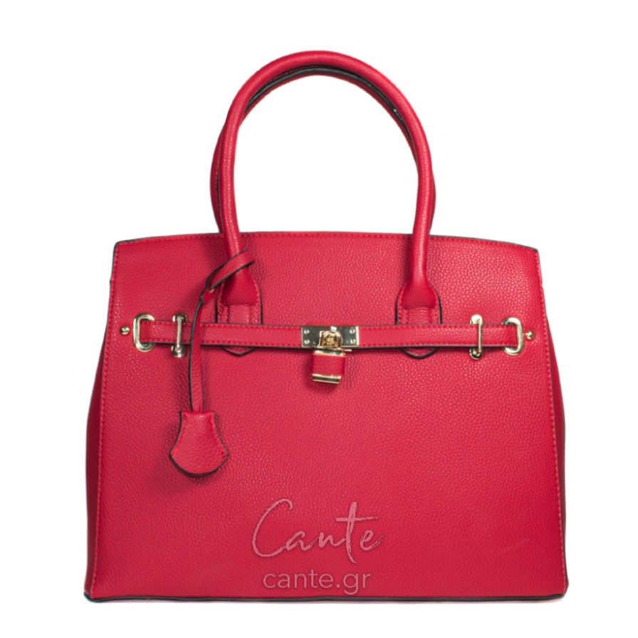 Γυναικεία Τσάντα Ώμου Κόκκινη