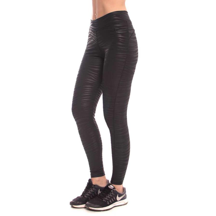 c63927754b0 Γυναικείο Κολάν Αθλητικό Με Σχέδιο Ζέβρα Μαύρο