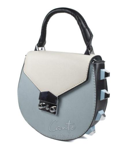 Γυναικεία Τσάντα Χειρός Γαλάζια