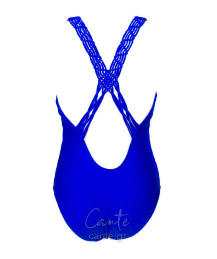 Γυναικείο Μαγιό Ολόσωμο Μπλε